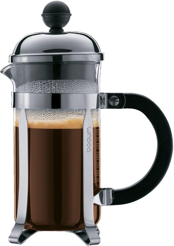 French Press Automatic Coffee Maker : Bodum Chambord French press coffee maker - Crema