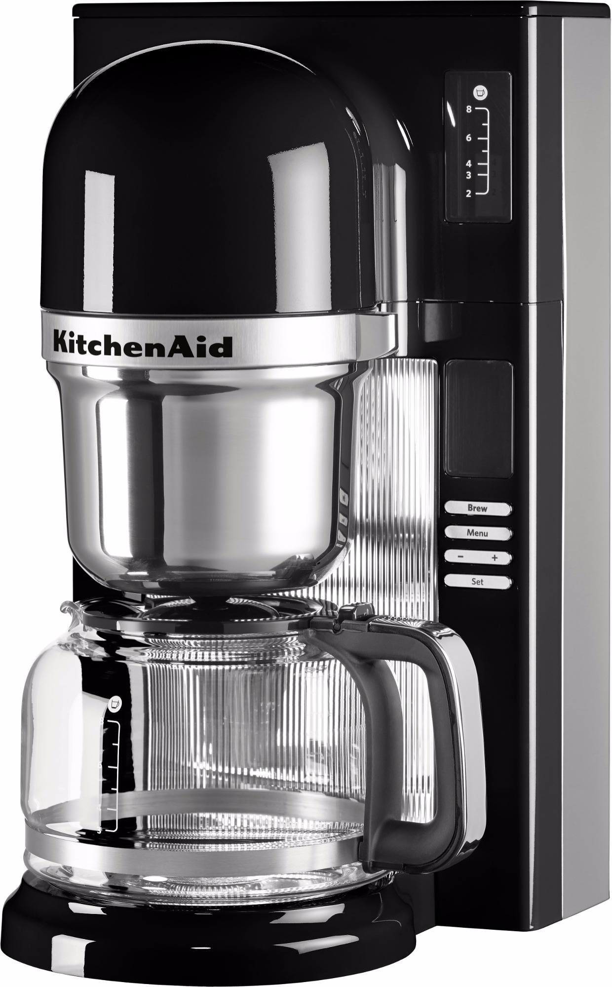 kitchenaid pour over coffee maker 125 l onyx black