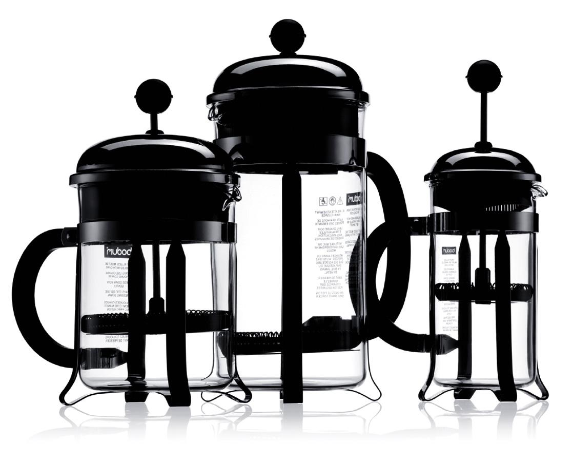 bodum chambord french press coffee maker crema. Black Bedroom Furniture Sets. Home Design Ideas