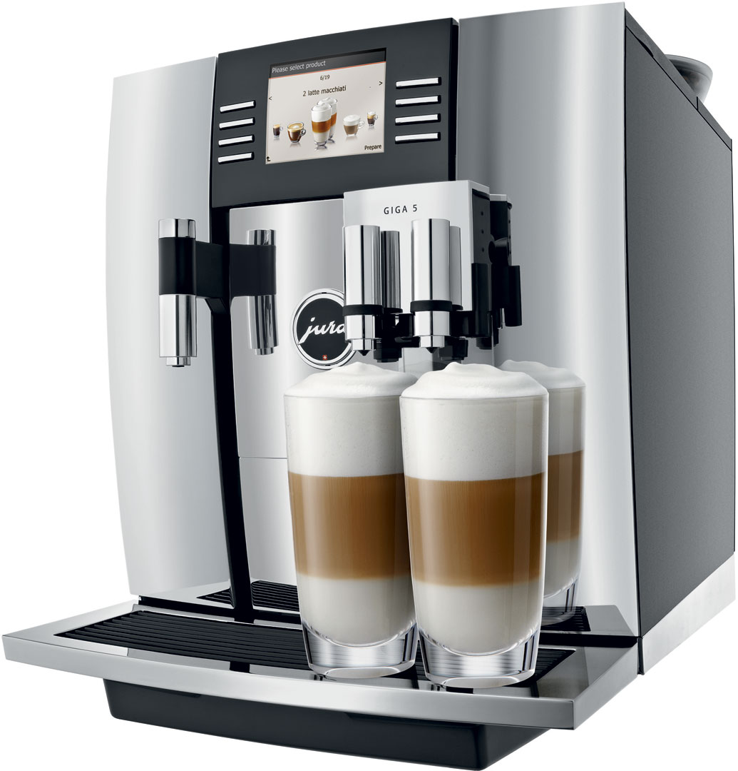 jura giga 5 automatic coffee machine crema. Black Bedroom Furniture Sets. Home Design Ideas