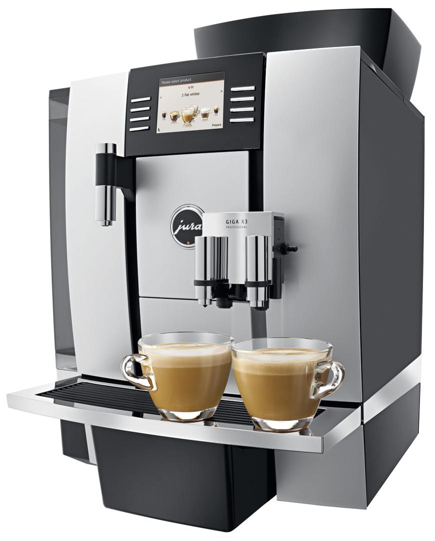 jura giga x3 professional coffee machine crema. Black Bedroom Furniture Sets. Home Design Ideas