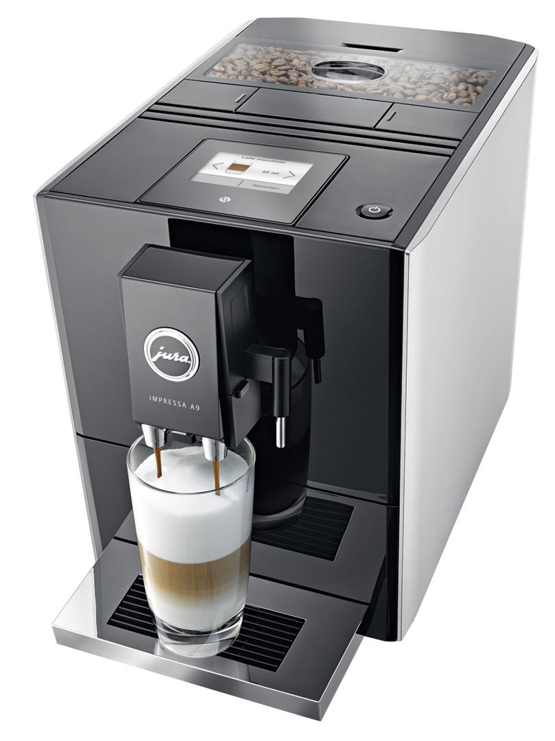 jura impressa a9 automatic coffee machine crema. Black Bedroom Furniture Sets. Home Design Ideas
