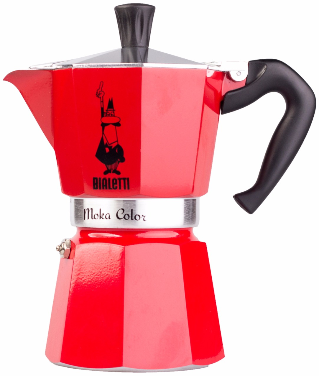 Bialetti Mokona Coffee Maker Red : Bialetti Moka Color 6 cup Stovetop Espresso Maker, Red - Crema