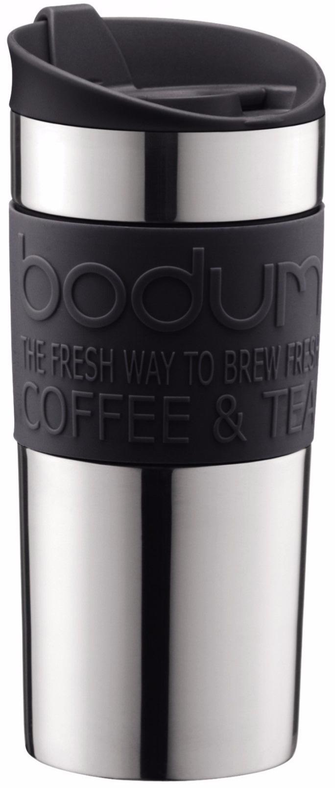 Bodum Vacuum Travel Mug 0 35 L Black Crema