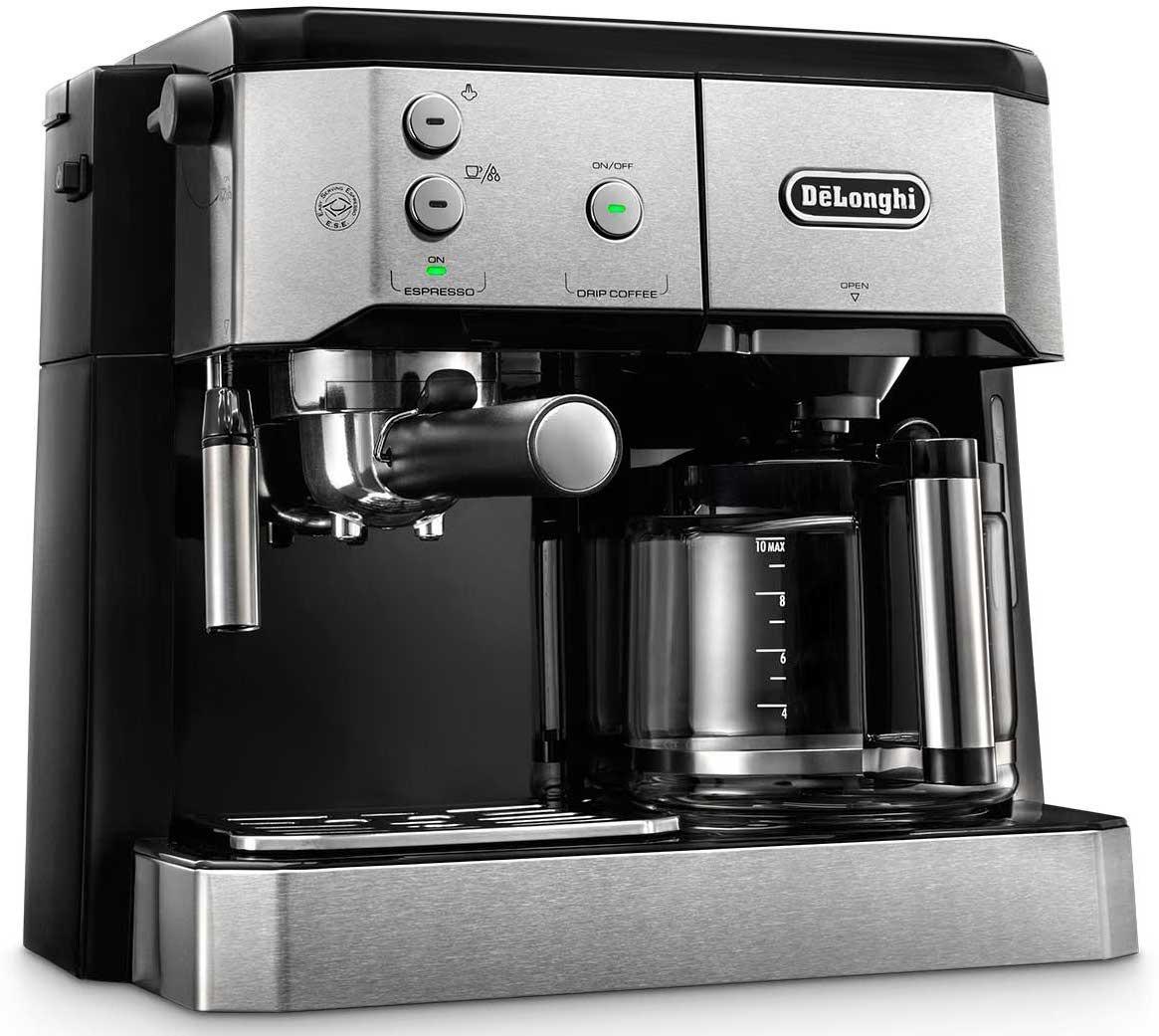 1847d2e890a6 DeLonghi BCO421.S dual function coffee machine (espresso and drip ...