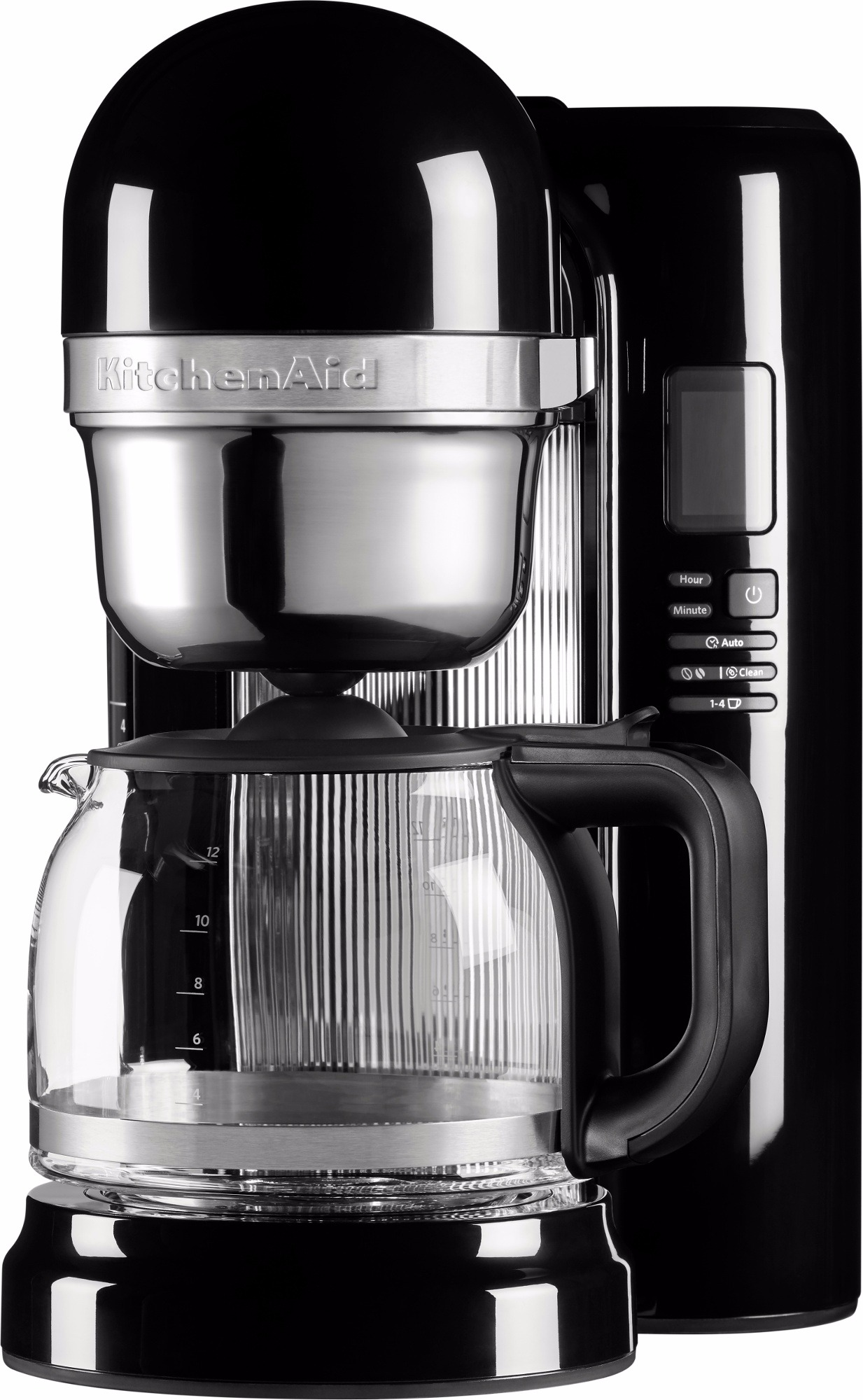 KitchenAid 1204EOB Pour Over Coffee Maker 1,7 l, Onyx Black - Crema