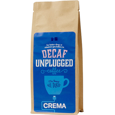 Crema Unplugged Decaf Coffee