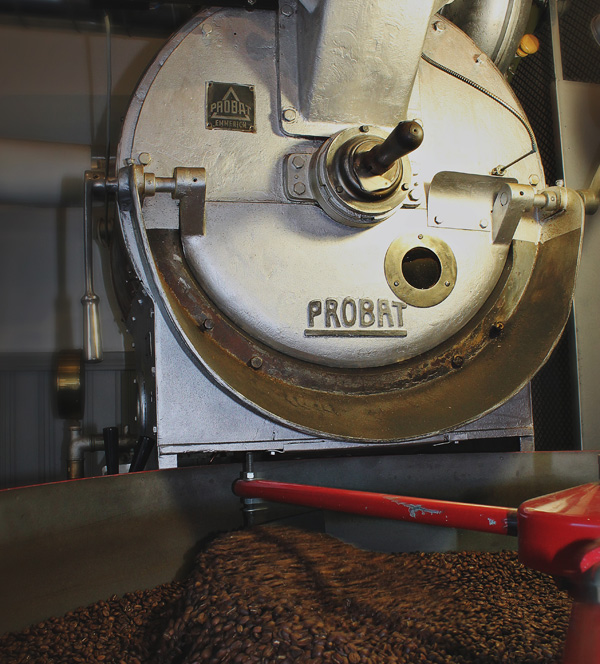 Probat UG22 coffee roast