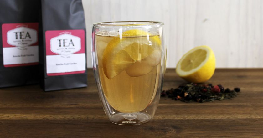 Ice tea is the perfect drink for the summer
