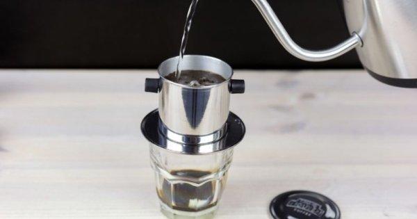 Miten valmistaa vietnamilaista kahvia phin-kahvisuodattimella