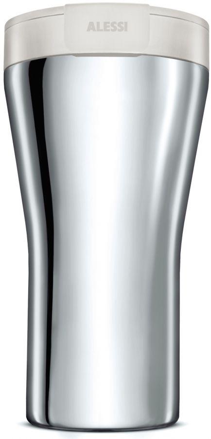 Alessi GIA24 Caffa matkatermosmuki 400 ml, valkoinen