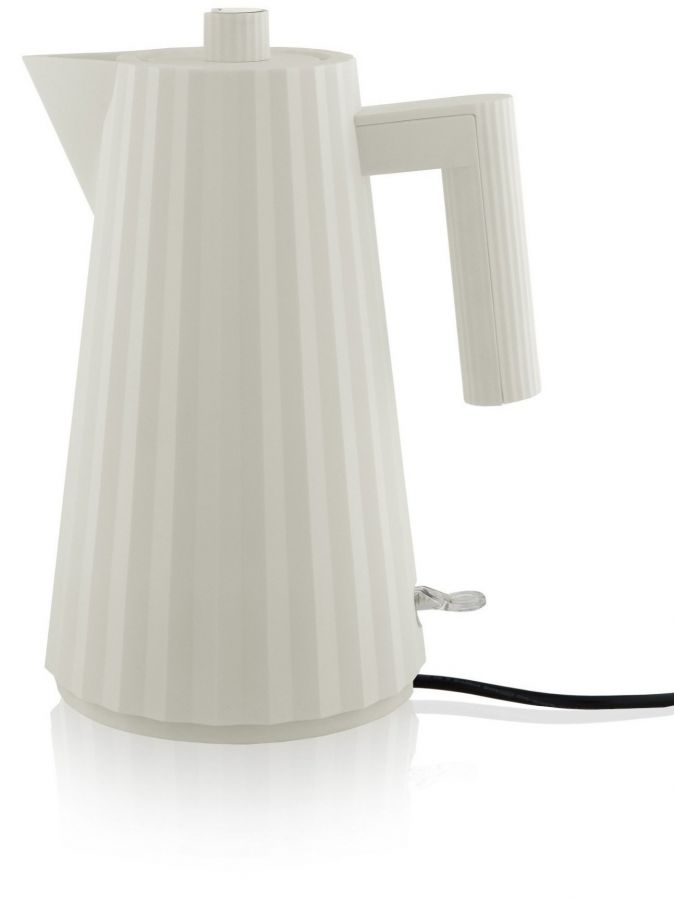 Alessi MDL06 Plissé vedenkeitin 1,7 l, valkoinen