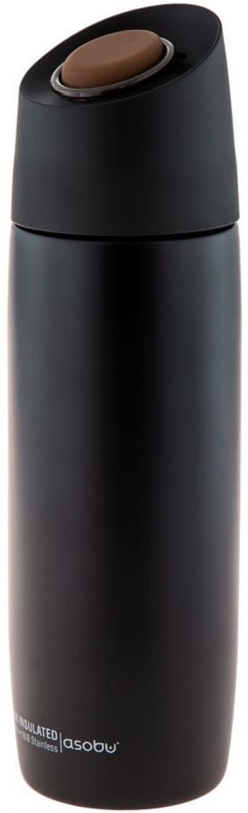 Asobu 5th Avenue Coffee Tumbler termosmugg 390 ml, svart