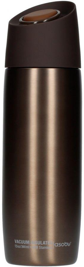 Asobu 5th Avenue Coffee Tumbler termosmuki 390 ml, ruskea