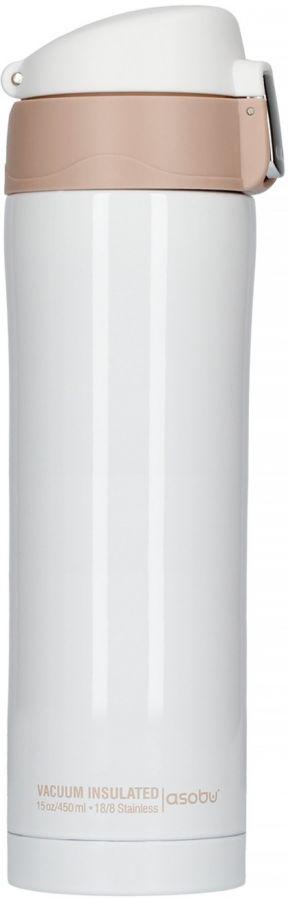 Asobu Diva termosmuki 450 ml, valkoinen
