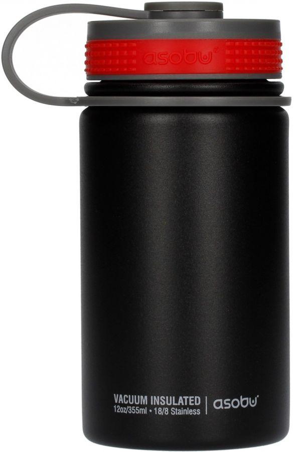 Asobu Mini Hiker Travel Bottle 355 ml, Black