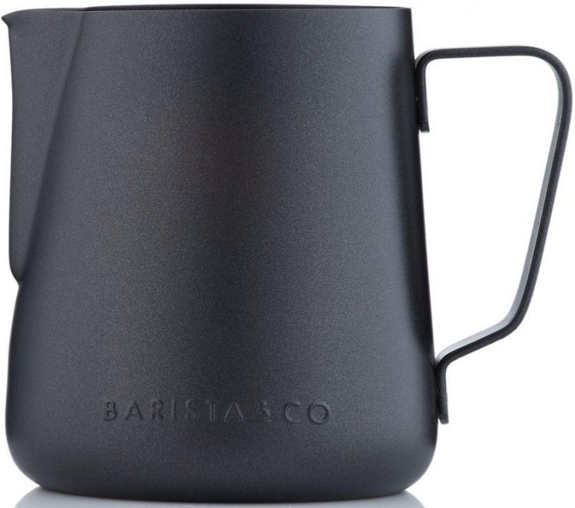 Barista & Co Core mjölkskumningskanna 420 ml, Black Non-Stick