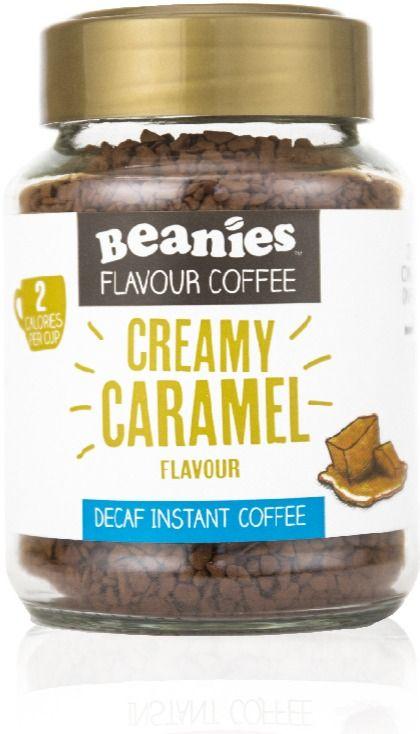 Beanies Decaf Creamy Caramel 50 g maustettu pikakahvi 50 g