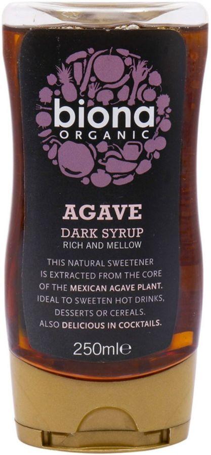 Biona Organic Agavesiirappi, tumma 250 ml