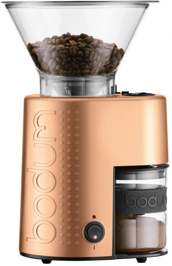 Bodum Bistro Coffee Grinder, Copper