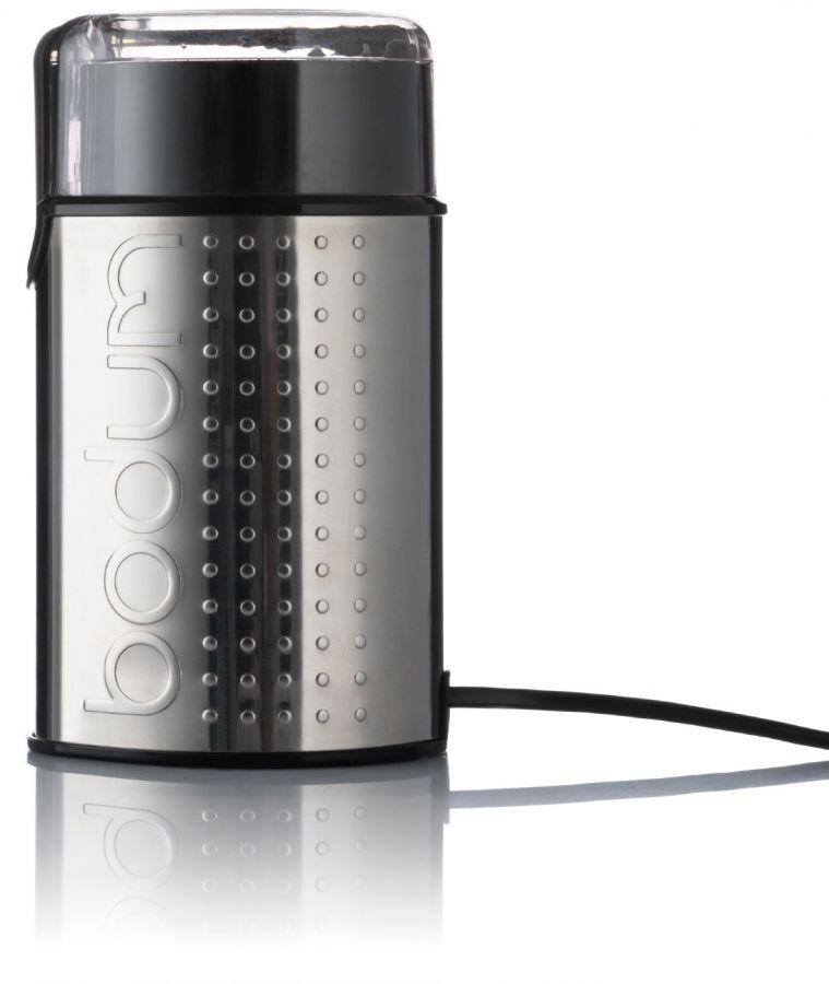 Bodum Bistro kahvimylly silppuavalla terällä, kromi