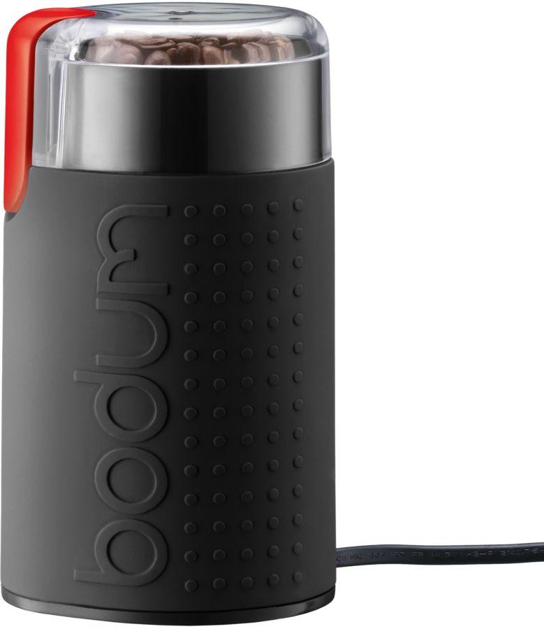 Bodum Bistro kaffekvarn med roterande blad, matt svart