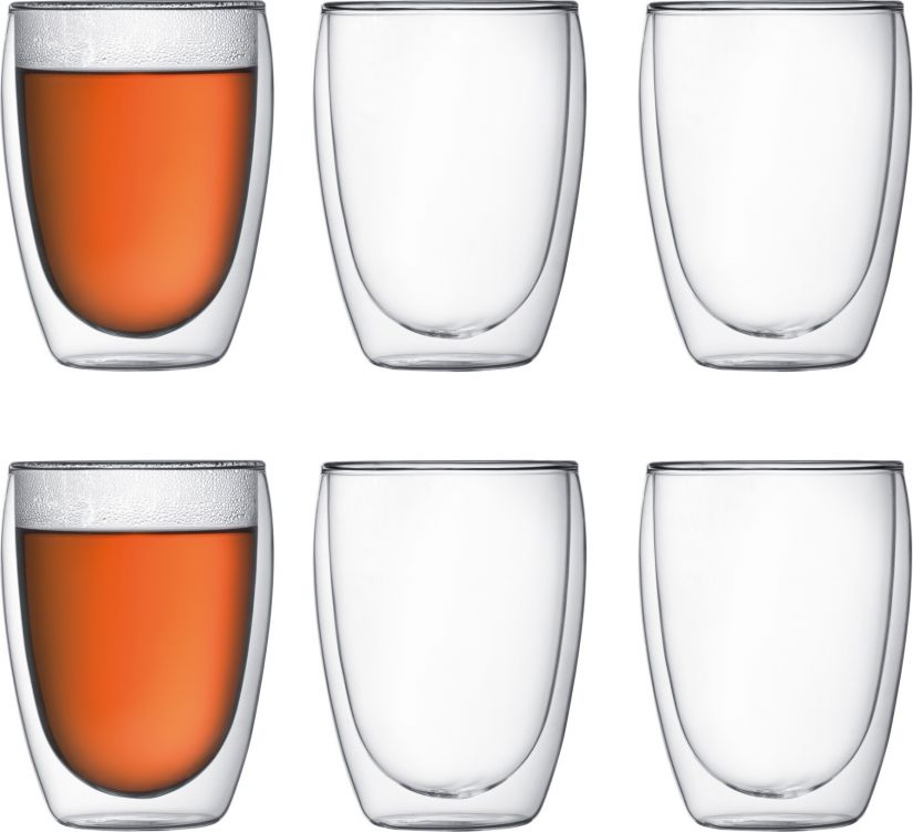 Bodum Pavina dubbelväggade glas 360 ml, 6 st.