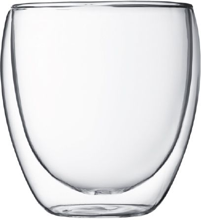 Bodum Pavina Double Wall Glass 250 ml, 2 pcs