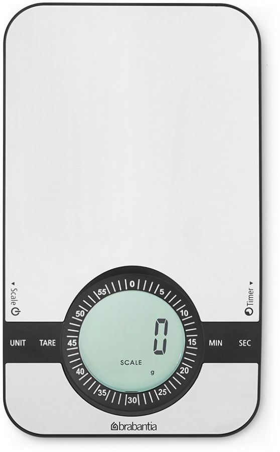 Brabantia Kitchen Scale with Timer