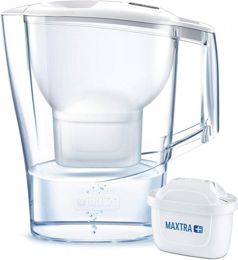 Brita Aluna Maxtra+ vedensuodatinkannu 2,4 l, valkoinen