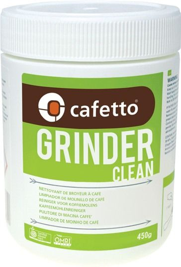 Cafetto Grinder Clean ekologiset kahvimyllyn puhdistusrakeet 450 g