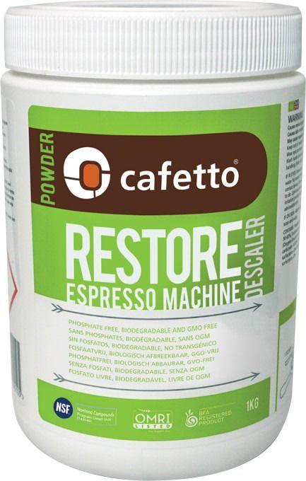 Cafetto Restore ekologinen kalkinpoistojauhe 1 kg
