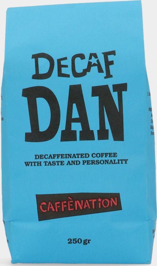 Caffènation Decaf Dan kahvipavut 250 g