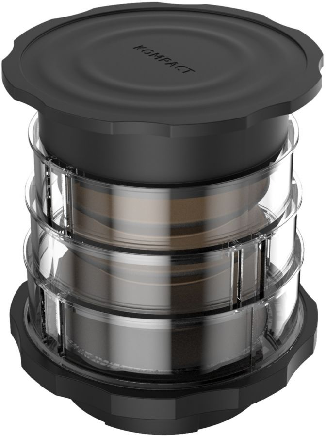 Cafflano Kompact Coffee Maker Black