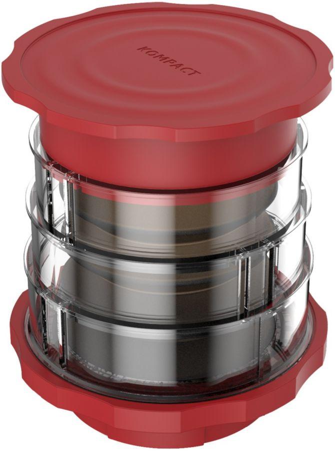 Cafflano Kompact Coffee Maker, punainen