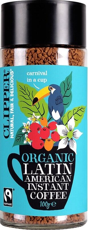 Clipper Organic Latin American Instant Coffee 100 g