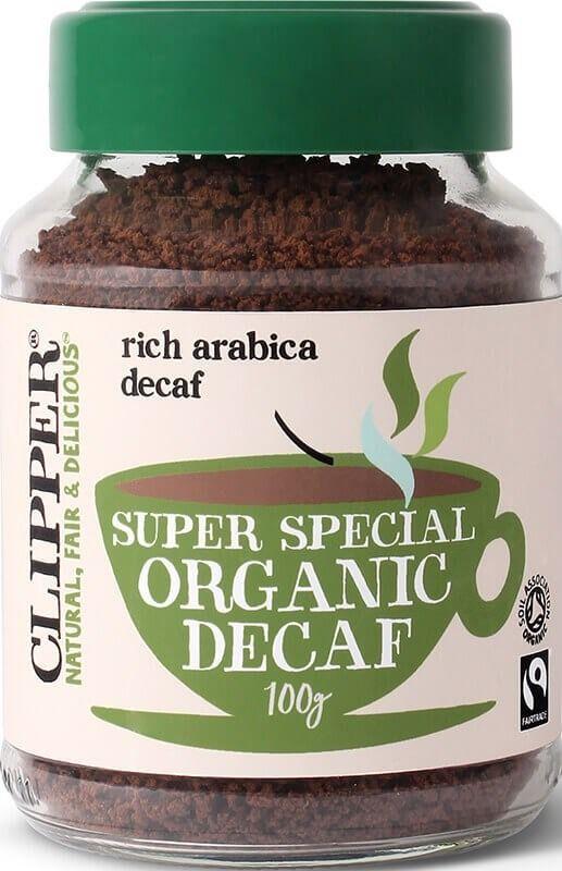Clipper Super Special Organic Decaf Instant Coffee 100 g