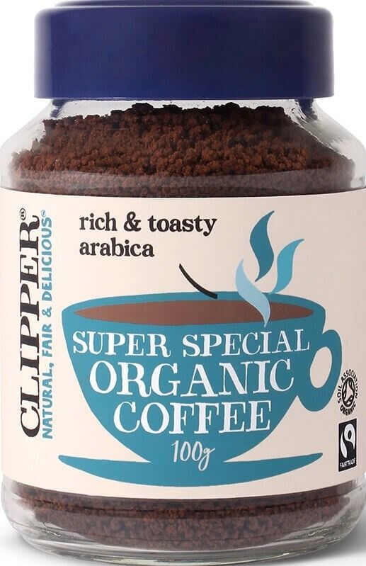 Clipper Super Special Organic Instant Coffee 100 g