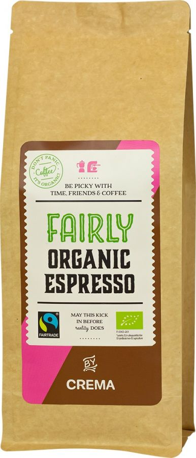 Crema Fairly Organic Espresso 500 g