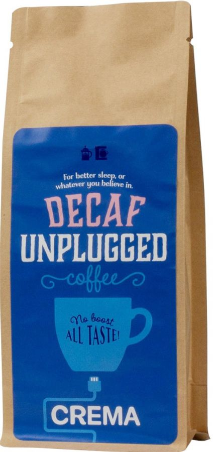Crema Unplugged Decaf Coffee 250 g