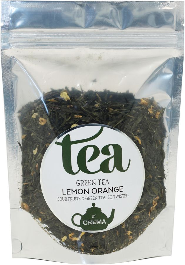 Crema Green Tea Lemon Orange 100 g