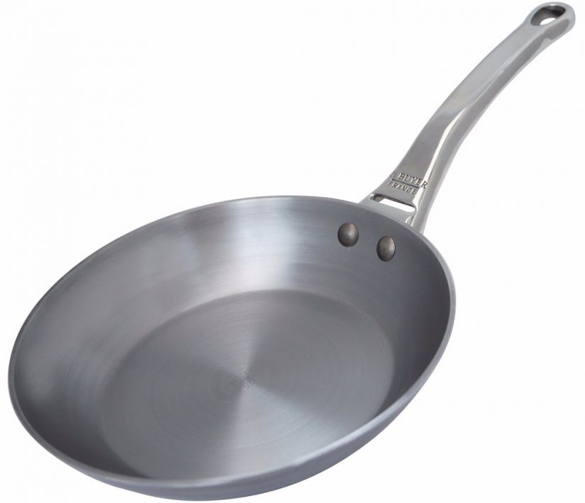 De Buyer Mineral B Element Pro Carbon Steel Frying Pan 28 cm