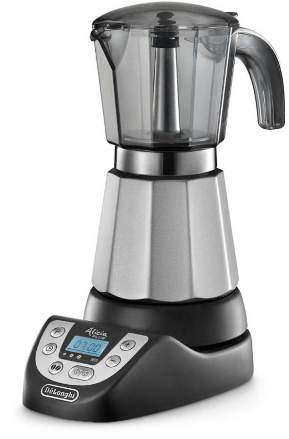 DeLonghi EMKP63 Alicia Plus electric stovetop espresso maker