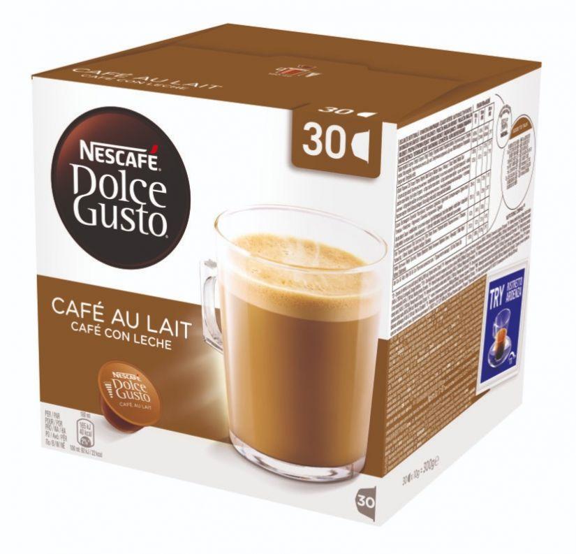 Dolce Gusto Cafe Au Lait -kahvikapselit 30 kpl