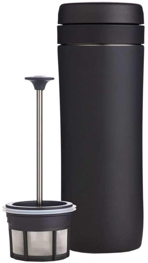 Espro Coffee Travel Press resemugg med pressofunktion 350 ml, matt svart