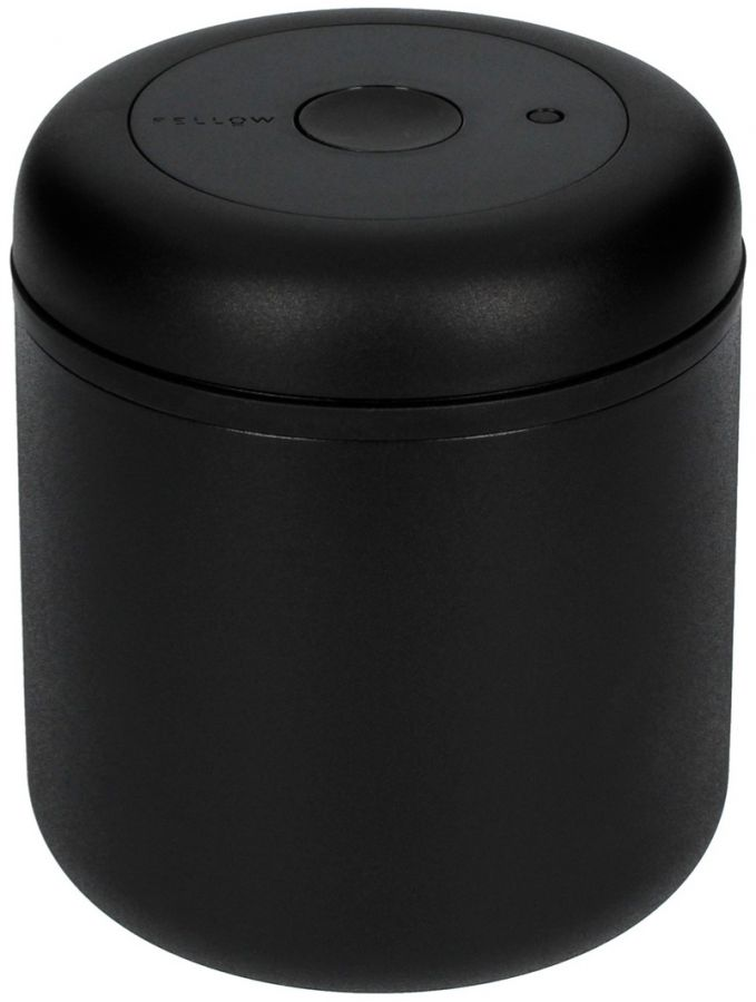 Fellow Atmos Vacuum Canister 700 ml, Matte Black Steel