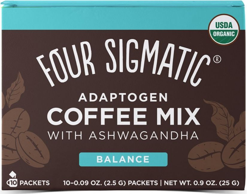 Four Sigmatic Adaptogen Coffee Mix With Ashwagandha, 10 annospussia