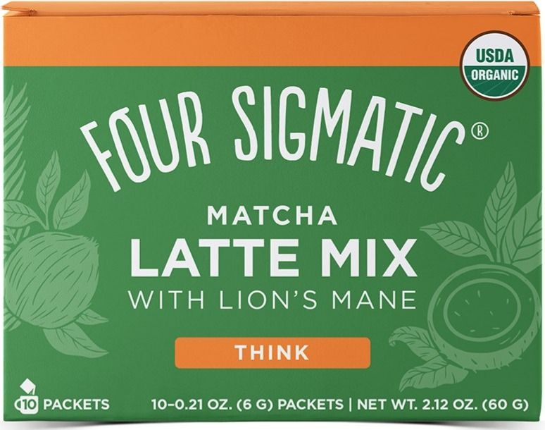 Four Sigmatic Matcha Latte With Lion's Mane, 10 annospussia