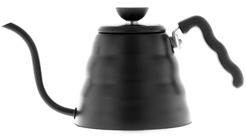 Hario Buono Stainless Steel Kettle 1,2 l, Black