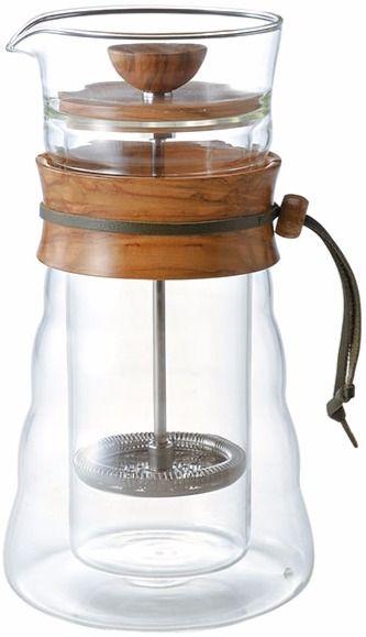 Hario Cafe Press Double Glass pressopannu 400 ml